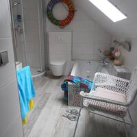 fertig das neu Bad und schon dekoriert