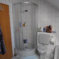 Alte Dusche und WC