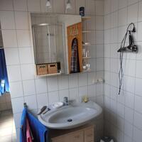So sah das alte Handwaschbecken aus